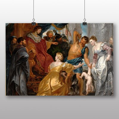 Big Box Art 'The first Book of Kings in the Bible' by Peter Paul Rubens Art Print