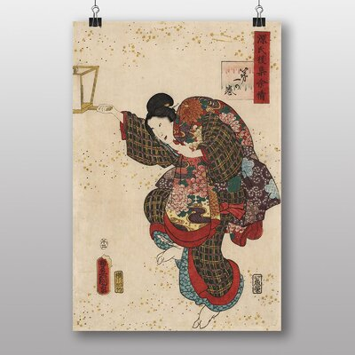 Big Box Art VintageJapanese Oriental Art No.20 by Utagawa Toyokuni Art Print