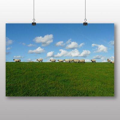 Big Box Art Sheep Flock No.2 Photographic Print