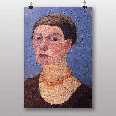 Big Box Art Self Portrait No.3 by Paula Modersohn Becker Art Print