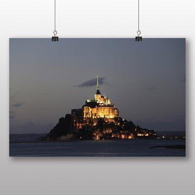 Big Box Art Mont St. Michel France Photographic Print