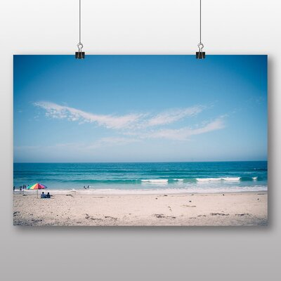 Big Box Art 'Sandy Beach Scene No.8' Photographic Print