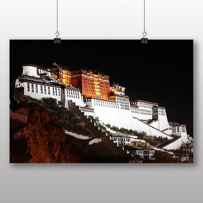 Big Box Art Potala Palace Llasa Tibet No.3 Photographic Print on Canvas