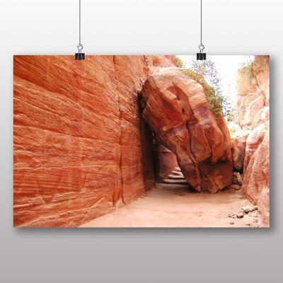 Big Box Art Petra Jordan No.3 Photographic Print on Canvas