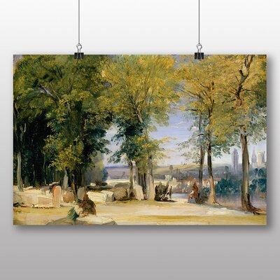 Big Box Art 'View near Rouen' by Richard Bonington Art Print