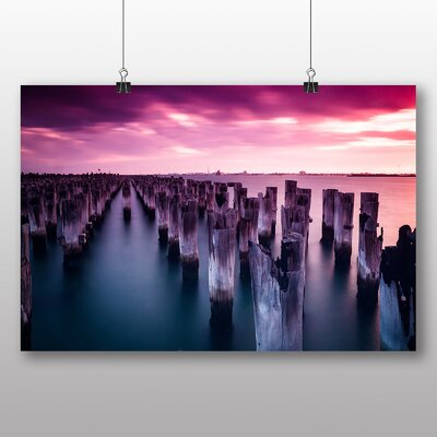 Big Box Art Princes Pier Melbourne Australia Photographic Print
