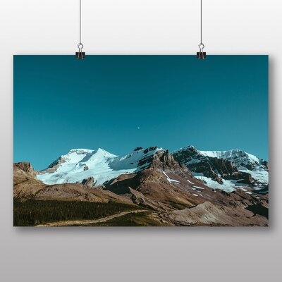 Big Box Art 'Moon Above the Mountains' Photographic Print