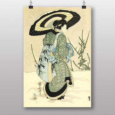 Big Box Art Vintage Japanese Oriental No.3 by Utagawa Kuniyasu Art Print