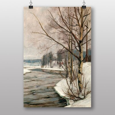 "Big Box Art ""Birches in Early Spring"" by Victor Westerholm Art Print"
