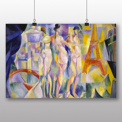 Big Box Art 'La Ville de Paris' by Robert Delaunay Art Print