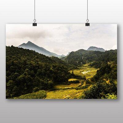 Big Box Art Vietnam Landscape No.1 Photographic Print Wrapped on Canvas