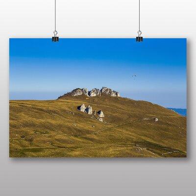 Big Box Art Romainia Landscape Photographic Print on Canvas