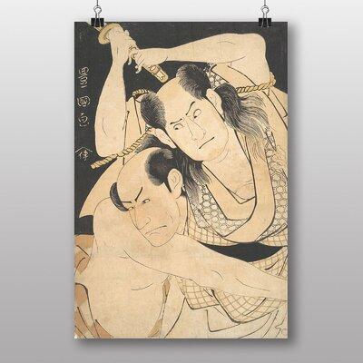 """Big Box Art """"Utagawa Japanese Oriental the Actors Sawamura"""" by Utagawa Toyokuni Art Print"""