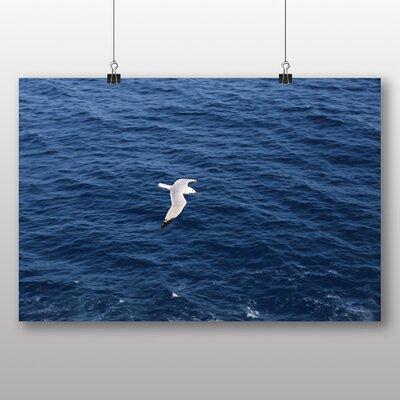 Big Box Art 'Seagull Bird Over the Sea' Photographic Print