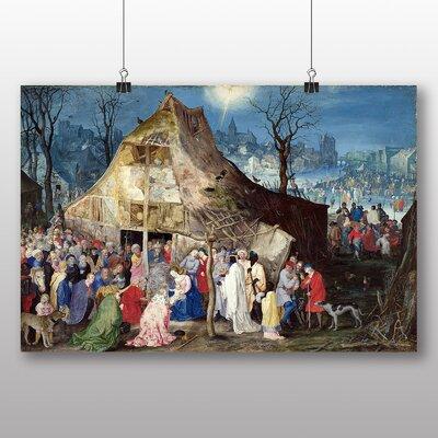 Big Box Art 'the Elder the Adoration of the Kings' by Pieter Bruegel Art Print