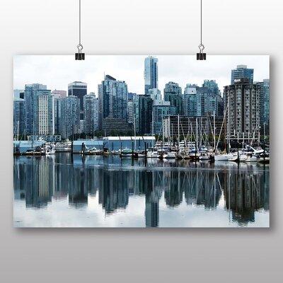 Big Box Art Vancouver Skyline City Canada No.7 Photographic Print