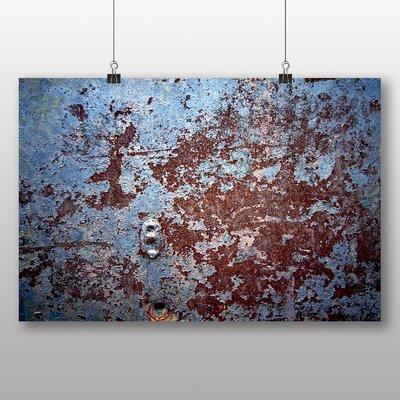 Big Box Art 'Rusted Metal Texture' Photographic Print