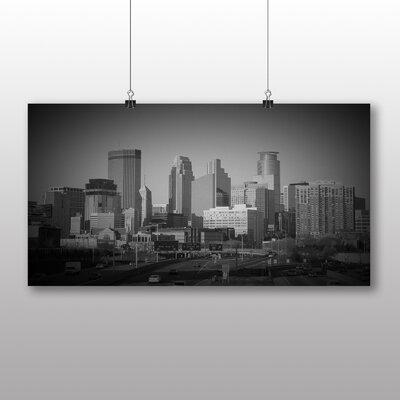 Big Box Art Skyline Minneapolis Photographic Print Wrapped on Canvas