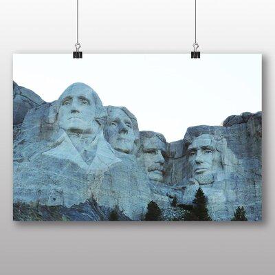 Big Box Art Mount Rushmore South Dakota USA Photographic Print Wrapped on Canvas