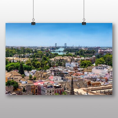 Big Box Art Seville Spain Photographic Print on Canvas
