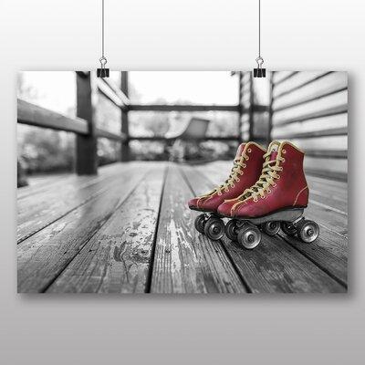 Big Box Art Roller Skates Boots Photographic Print