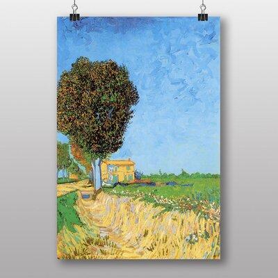 Big Box Art A Lane Near Arles by Vincent Van Gogh Art Print