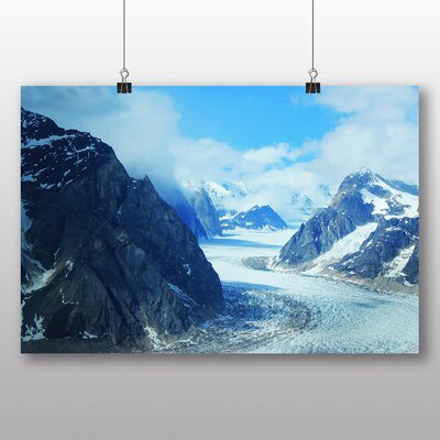 Big Box Art Mt Denali Mckinley Mountain No.3 Photographic Print on Canvas