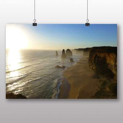 Big Box Art Victoria Australia Twelve Apostles Cliffs Beach No.3 Photographic Print