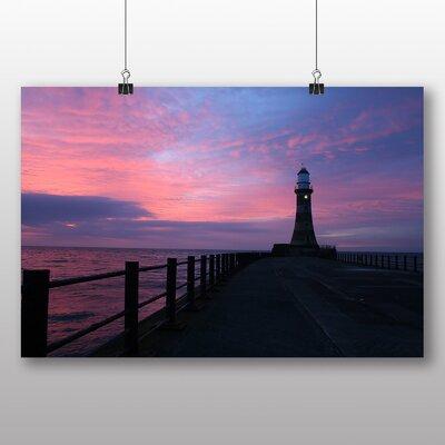Big Box Art Pier Jetty Sea Lighthouse Photographic Print