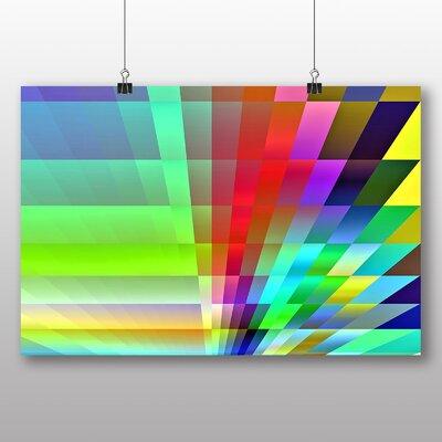Big Box Art Rainbow Fractal Abstract Graphic Art