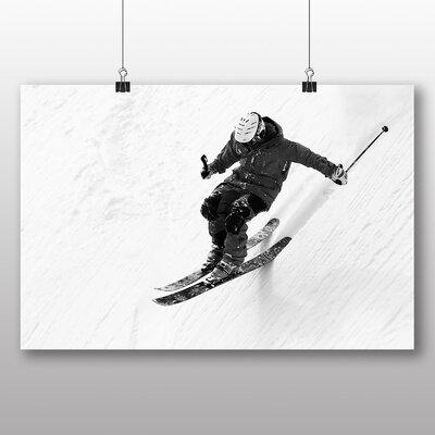 Big Box Art Skiing Photographic Print