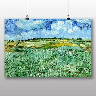 Big Box Art 'Landscape No.7' by Vincent Van Gogh Art Print