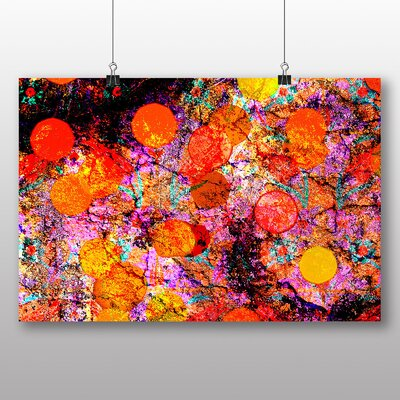 Big Box Art Abstract No.11 Graphic Art Wrapped on Canvas