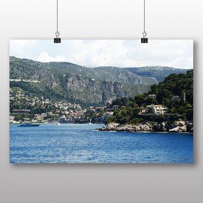 Big Box Art Villa Franch Port Monaco No.2 Photographic Print on Canvas