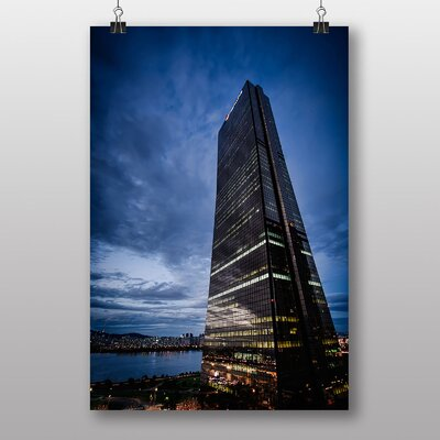 Big Box Art Seoul South Korea Photographic Print Wrapped on Canvas