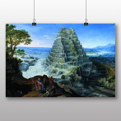 Big Box Art 'the Elder Babel' by Pieter Bruegel Graphic Art