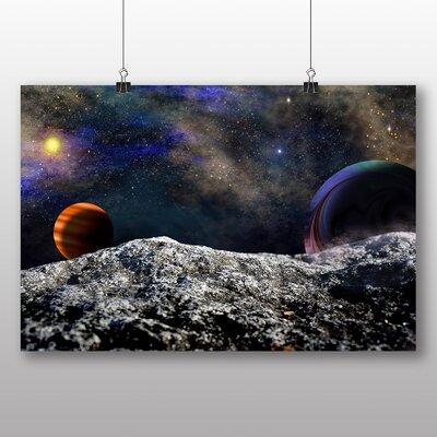 Big Box Art Space Planets No.3 Graphic Art