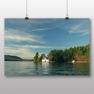 Big Box Art 'Quebec House on the Lake' Photographic Print