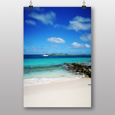 Big Box Art Sint Maarten Photographic Print Wrapped on Canvas