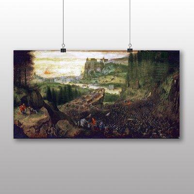 Big Box Art 'The Suicide of Saul' by Pieter Bruegel the Elder Art Print