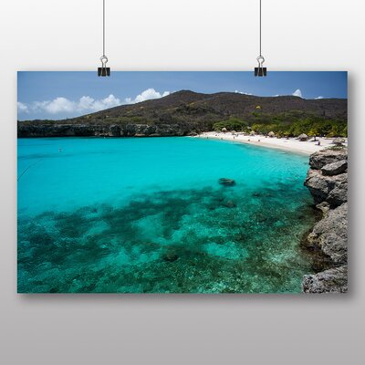 Big Box Art 'Sandy Beach Scene No.7' Photographic Print