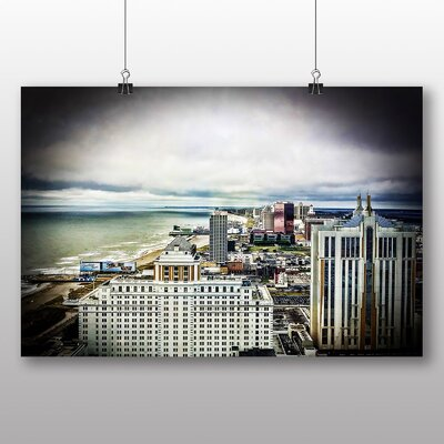 Big Box Art New Jersey Atlantic City USA Photographic Print