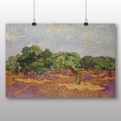 Big Box Art 'Landscape No.6' by Vincent Van Gogh Art Print