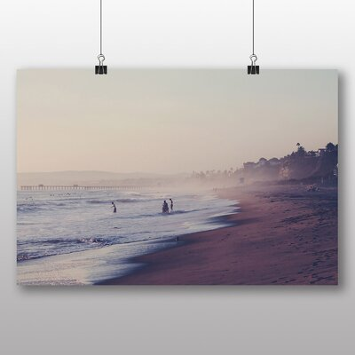 Big Box Art 'Sandy Beach Scene No.6' Photographic Print