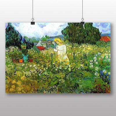 Big Box Art 'Marguerite Gachet in the Garden' by Vincent Van Gogh Art Print