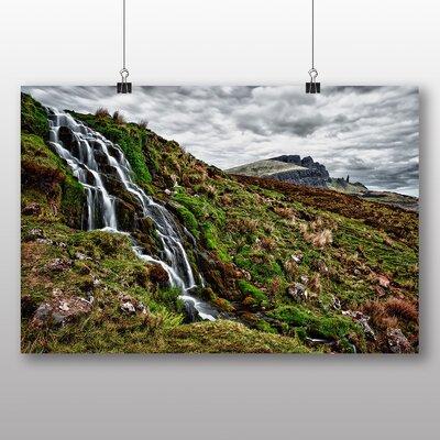 Big Box Art Scotland Landscape No.1 Photographic Print on Canvas