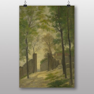 Big Box Art Landscape by Stanislas Lepine Art Print