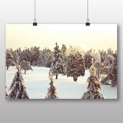 Big Box Art 'Snow in Quebec' Photographic Print