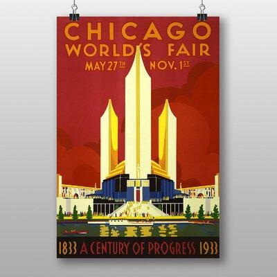 Big Box Art Vintage Chicago World Fair Vintage Advertisement