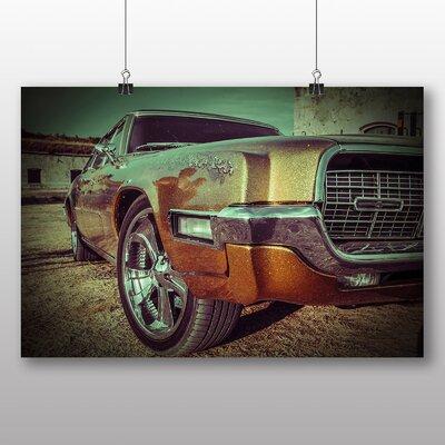 Big Box Art Vintage Classic Car No.14 Photographic Print on Canvas
